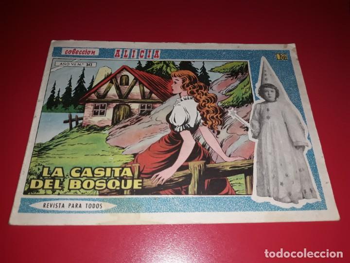 COLECCIÓN ALICIA Nº 343 (Tebeos y Comics - Toray - Alicia)
