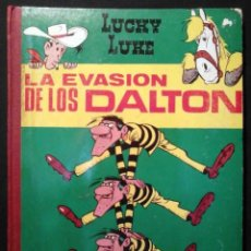 Tebeos: LUCKY LUKE - LA EVASIÓN DE LOS DALTON - ED. TORAY 1969. Lote 221848400