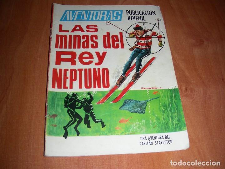 AVENTURAS Nº 31 LAS MINAS DEL REY NEPTUNO EDITORIAL TORAY 1968. (Tebeos y Comics - Toray - Otros)
