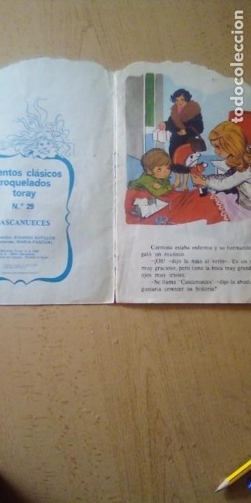 Tebeos: ANTIGUO CUENTO TROQUELADO - CASCANUECES - EDICIONES TORAY - Foto 2 - 221910366