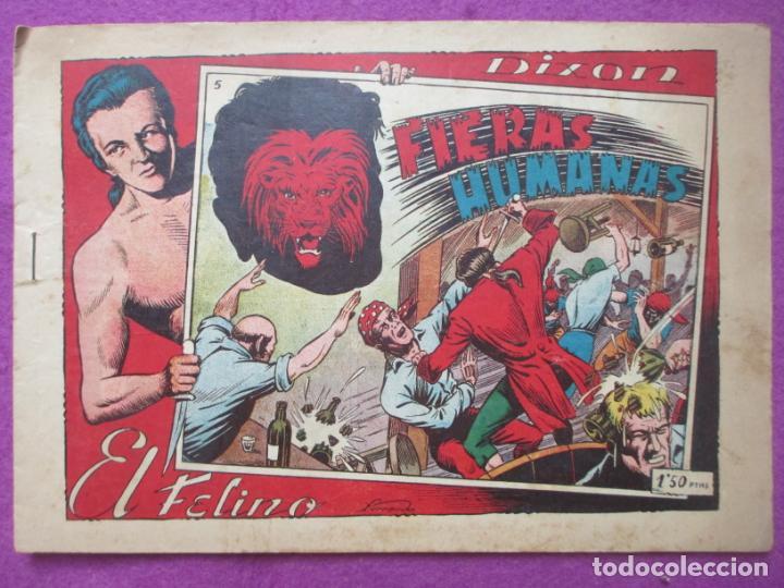 TEBEO EL FELINO FIERAS HUMANAS Nº 5 ED. TORAY ORIGINAL (Tebeos y Comics - Toray - Otros)