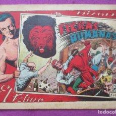 Tebeos: TEBEO EL FELINO FIERAS HUMANAS Nº 5 ED. TORAY ORIGINAL. Lote 221911222
