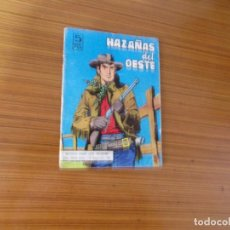Tebeos: HAZAÑAS DEL OESTE Nº 110 EDITA TORAY. Lote 221941267