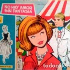 Tebeos: ROSAS BLANCAS- Nº 326 -NO HAY AMOR SIN FANTASÍA-JORDI MORA-BUENO-1965-ESCASO Y RARO-LEAN-3915. Lote 221953547