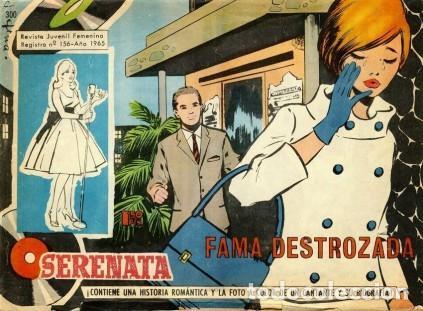 SERENATA- Nº 300 -FAMA DESTROZADA-1965-GRAN GENESTAR-CORRECTO-DIFÍCIL-LEAN-3916 (Tebeos y Comics - Toray - Otros)