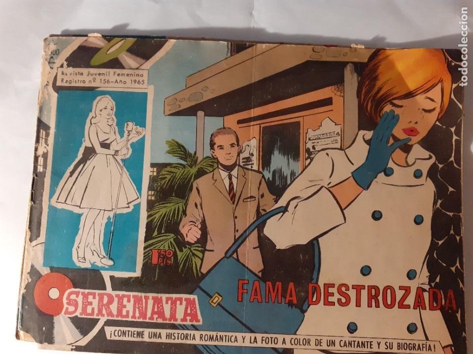 Tebeos: SERENATA- Nº 300 -FAMA DESTROZADA-1965-GRAN GENESTAR-CORRECTO-DIFÍCIL-LEAN-3916 - Foto 2 - 221962193