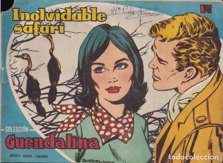 GUENDALINA Nº 49: INOLVIDABLE SAFARI (Tebeos y Comics - Toray - Guendalina)