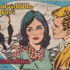 Tebeos: GUENDALINA Nº 49: INOLVIDABLE SAFARI. Lote 222049707
