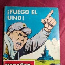 Tebeos: HAZAÑAS BÉLICAS . Nº 222. FUEGO EL UNO. EDICIONES TORAY. Lote 222087683
