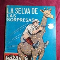 Tebeos: HAZAÑAS BÉLICAS . Nº 221. LA SELVA DE LAS SORPRESAS. EDICIONES TORAY. Lote 222087923