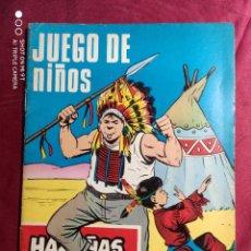 Tebeos: HAZAÑAS BÉLICAS . Nº 219. JUEGO DE NIÑOS. EDICIONES TORAY. Lote 222088047