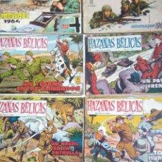 Tebeos: LOTE REVISTA PARA LOS JOVENES HAZAÑAS BELICAS AÑOS 1958,1961,1964.EDICIONES TORAY.. Lote 222138350