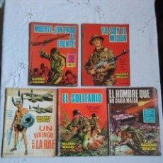 Tebeos: LOTE NOVELA GRAFICA PARA ADULTOS HAZAÑAS BELICAS AÑOS 1966-1967.EDICIONES TORAY S.A.. Lote 222139841