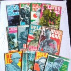 Tebeos: LOTE NOVELA GRAFICA PARA ADULTOS RELATOS DE GUERRA AÑOS DE 1964 A 1968.EDICIONES TORAY S.A.. Lote 222141646