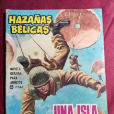 Tebeos: HAZAÑAS BÉLICAS . Nº 105. UNA ISLA NEUTRAL. EDICIONES TORAY 1965. Lote 222181105