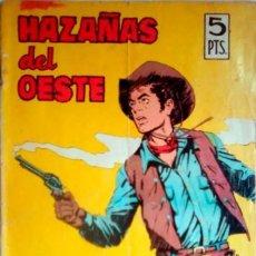 Tebeos: HAZAÑAS DEL OESTE- Nº 105 - A.PÉREZ-J.RIERA-JUAN MULERO-1966-CORRECTO- MUY DIFÍCIL- LEAN- 3929. Lote 222276273