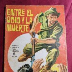 Tebeos: HAZAÑAS BÉLICAS . Nº 96. ENTRE EL ODIO Y LA MUERTE. EDICIONES TORAY 1965. Lote 222282556