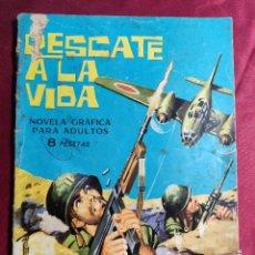 Tebeos: HAZAÑAS BÉLICAS . Nº 96. RESCATE A LA VIDA. EDICIONES TORAY 1965. Lote 222282678