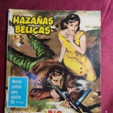 Giornalini: HAZAÑAS BÉLICAS . Nº 93. LOS QUE NO GANAN MEDALLA. EDICIONES TORAY 1965. Lote 222283458