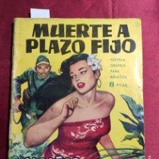 Tebeos: HAZAÑAS BÉLICAS . Nº 63. MUERTE A PLAZO FIJO. EDICIONES TORAY 1964. Lote 222364720