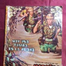 BDs: HAZAÑAS BÉLICAS . Nº 30. HAY UNA TUMBA EN LA PLAYA. EDICIONES TORAY 1962. Lote 222390486