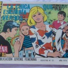Tebeos: REVISTA JUVENIL FEMENINA AZUCENA NUM 1156 - LA CHICA QUE ESCRIBÍA VERSOS. Lote 222507611