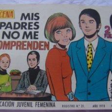 Tebeos: REVISTA JUVENIL FEMENINA AZUCENA NUM 1157 -MIS PADRES NO ME COMPRENDEN. Lote 222507742
