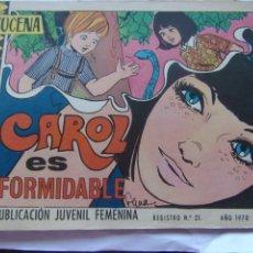 Tebeos: REVISTA JUVENIL FEMENINA AZUCENA NUM 1158- CAROL ES FORMIDABLE. Lote 222507930