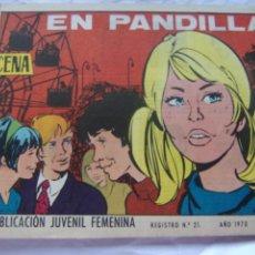 Tebeos: REVISTA JUVENIL FEMENINA AZUCENA NUM 1162- EN PANDILLA. Lote 222508355