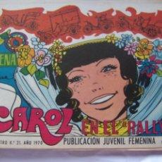 Tebeos: REVISTA JUVENIL FEMENINA AZUCENA NÚM. 1163 - CAROL EN EL RALLYE. Lote 222508410