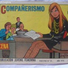 Tebeos: REVISTA JUVENIL FEMENINA AZUCENA NÚM. 1164 -COMPAÑERISMO. Lote 222508976