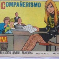 Tebeos: REVISTA JUVENIL FEMENINA AZUCENA NÚM. 1164 -COMPAÑERISMO. Lote 222510075