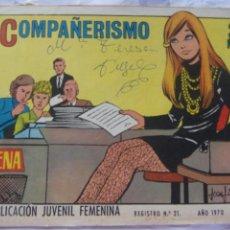 Tebeos: REVISTA JUVENIL FEMENINA AZUCENA NÚM. 1164 -COMPAÑERISMO. Lote 222510228