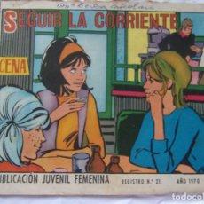 Tebeos: REVISTA JUVENIL FEMENINA AZUCENA NÚM. 1166- SEGUIR LA CORRIENTE. Lote 222510277