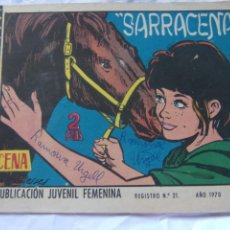 Tebeos: REVISTA JUVENIL FEMENINA AZUCENA NÚM. 1171 - SARRACENA. Lote 222510576