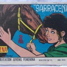 Tebeos: REVISTA JUVENIL FEMENINA AZUCENA NÚM. 1171 - SARRACENA. Lote 222510628