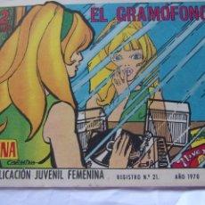 Tebeos: REVISTA JUVENIL FEMENINA AZUCENA NÚM. 1175- EL GRAMÓFONO. Lote 222510915