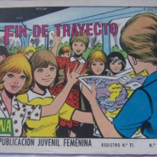 Tebeos: REVISTA JUVENIL FEMENINA AZUCENA NÚM. 1176 -FIN DE TRAYECTO. Lote 222510943