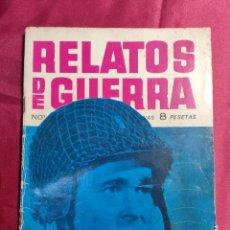 Tebeos: RELATOS DE GUERRA. Nº 8. ONDAS MORTALES. EDICIONES TORAY 1962. Lote 222579716