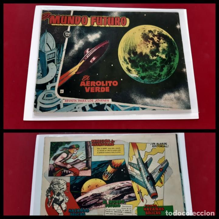 EL MUNDO FUTURO Nº 64. TORAY 1955.ORIGINAL-BUEN ESTADO (Tebeos y Comics - Toray - Mundo Futuro)