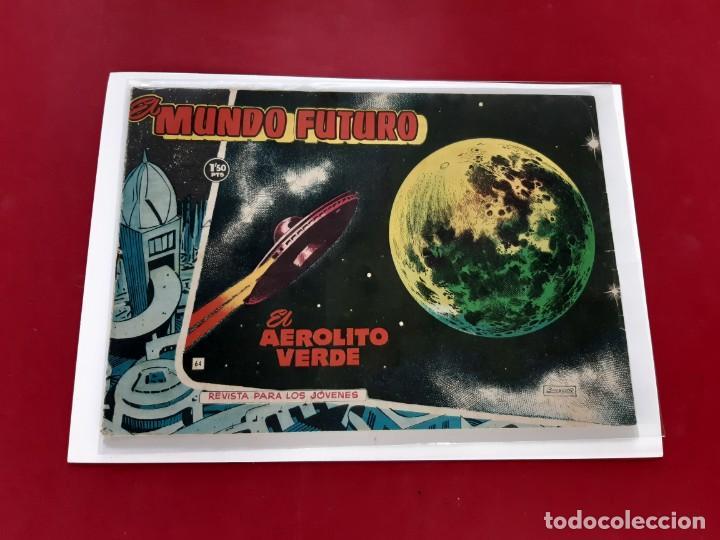 Tebeos: El Mundo Futuro nº 64. Toray 1955.Original-Buen estado - Foto 2 - 222588143