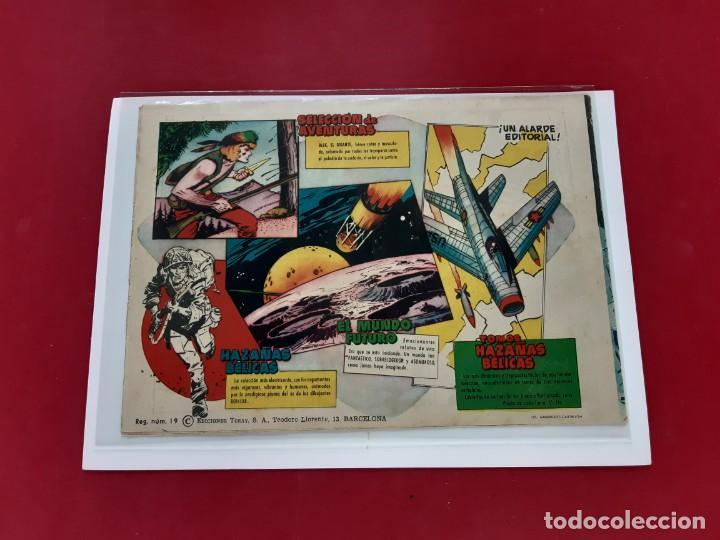 Tebeos: El Mundo Futuro nº 64. Toray 1955.Original-Buen estado - Foto 3 - 222588143
