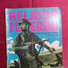Tebeos: RELATOS DE GUERRA. Nº 27. MADERA DE HÉROE. EDICIONES TORAY 1962. Lote 222605622