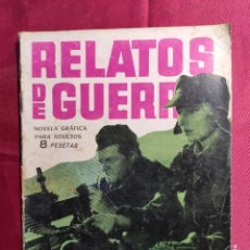 Tebeos: RELATOS DE GUERRA. Nº 28. SOLDADO PROFESIONAL. EDICIONES TORAY 1962. Lote 222605797