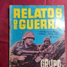 Tebeos: RELATOS DE GUERRA. Nº 29. GRUPO DE RETAGUARDIA. EDICIONES TORAY 1963. Lote 222610531
