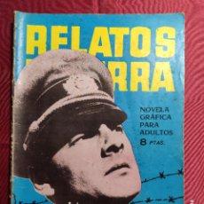 Tebeos: RELATOS DE GUERRA. Nº 36. LA GRAN OFENSIVA. EDICIONES TORAY 1964. Lote 222611132