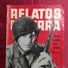 Tebeos: RELATOS DE GUERRA. Nº 38. CON LA PIEL PRESTADA. EDICIONES TORAY 1964. Lote 222611830