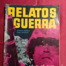 Tebeos: RELATOS DE GUERRA. Nº 40. SÓLO SÉ QUE NO ESTOY LOCO. EDICIONES TORAY 1964. Lote 222614351