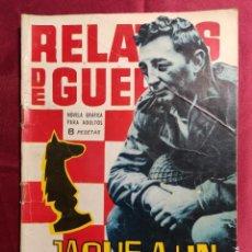Tebeos: RELATOS DE GUERRA. Nº 44. JAQUE A UN COMANDO. EDICIONES TORAY 1964. Lote 222614515