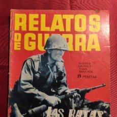 Tebeos: RELATOS DE GUERRA. Nº 58. LAS RATAS MUEREN DOS VECES. EDICIONES TORAY 1964. Lote 222614777